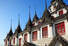 Loha Prasat at Wat Ratchanadda Stock Image