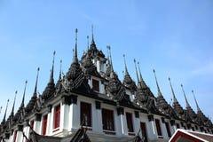 Loha Prasat Wat Ratchanatanaram Worawihan foto de archivo