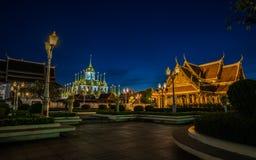 Loha Prasat Wat Ratchanatda, στη Μπανγκόκ Ταϊλάνδη Στοκ Φωτογραφία