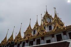 Loha Prasat Wat Ratchanatdaram Bangkok Thailand Stock Photos