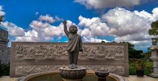 Lohan tempelstaty arkivfoton