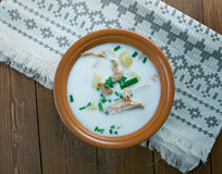 Lohikeitto - dish in Finland Stock Images
