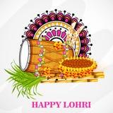 Lohri Foto de Stock
