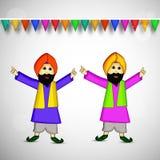 Lohri background Stock Images