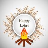 Lohri background Royalty Free Stock Photography