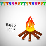 Lohri background Royalty Free Stock Photo
