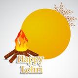 Lohri background Royalty Free Stock Images