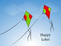 Lohri background Stock Image