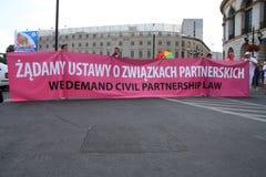 Loi civile de partenariat Photo libre de droits