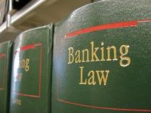 Loi d'opérations bancaires Photographie stock libre de droits