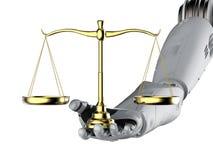 Loi de Cyber ou concept de loi d'Internet illustration stock