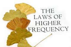 Loi de texte de fréquence de Highier Images libres de droits