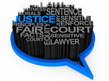 Loi et justice illustration de vecteur