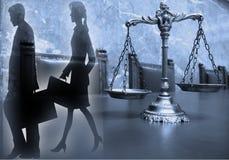 Loi et justice Image stock