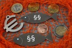 Loi européenne de pêche images libres de droits