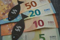 Loi européenne de pêche image libre de droits