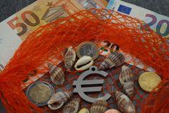 Loi européenne de pêche photo libre de droits