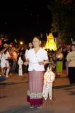 Loi Krathong chiangmai thailand Stock Image