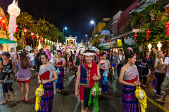 Loi Krathong 2014 Festival in Chiang Mai, Thailand Stock Photo