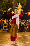 Loi Krathong 2014 Festival in Chiang Mai, Thailand Stock Images