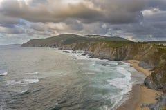 Loiba cliffs. Stock Photo