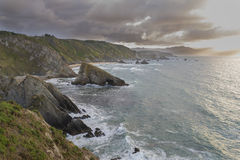 Loiba cliffs. Stock Images