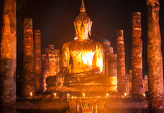 Loikrathong-Sukhothai2 Fotografia Stock Libera da Diritti