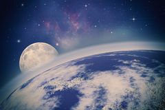 Loin Univers Image stock
