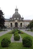 Loiola大教堂在阿兹佩希亚(西班牙) 免版税库存照片