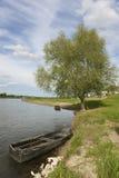 Loire river, Chaumont sur loire Royalty Free Stock Images