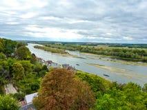 Loire river Stock Image