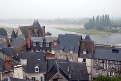 Loire River Valley en Francia fotos de archivo