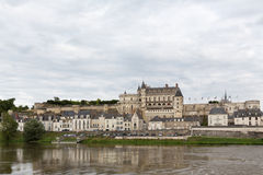 The Loire's Chateau d'Amboise Stock Photography