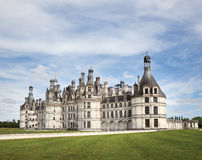 Loire valley chateau de chambord Royalty Free Stock Photo