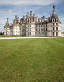 Loire valley chateau de chambord Royalty Free Stock Photography