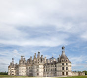Loire valley chateau de chambord Royalty Free Stock Images