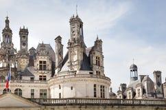 Loire Valley chateau de Chambord Lizenzfreie Stockfotografie