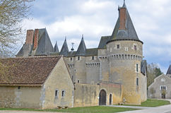 Loire Valley Chateau Royalty Free Stock Photos