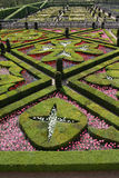 Loire Valley, giardini di Villandy Immagini Stock