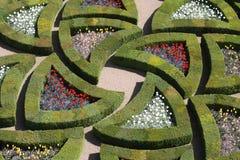 Loire Valley, giardini di Villandy Fotografia Stock