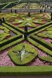Loire Valley, Villandy Gärten Stockbilder