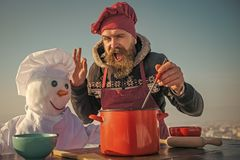 loisirs de Noël et nourriture de cuisson photos stock