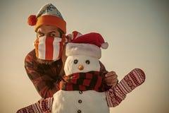 loisirs de Noël et saison d'hiver photographie stock