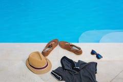 Loisirs de piscine Photographie stock libre de droits