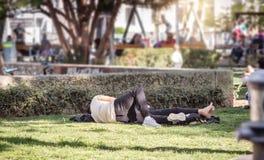 Loisirs en parc Photo libre de droits
