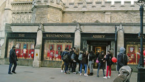 A loja da abadia de Westminster Imagem de Stock