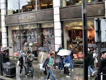 Loja da amoreira no tiro de Londres em 2012 Fotos de Stock