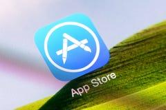 Loja da aplicação de Apple Foto de Stock