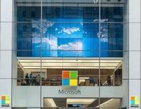 Loja da avenida de Microsoft 5a em New York City Imagem de Stock Royalty Free
