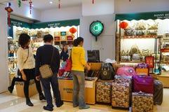 Loja da bagagem Fotos de Stock Royalty Free